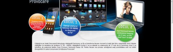 Promotion for Samsung Romania